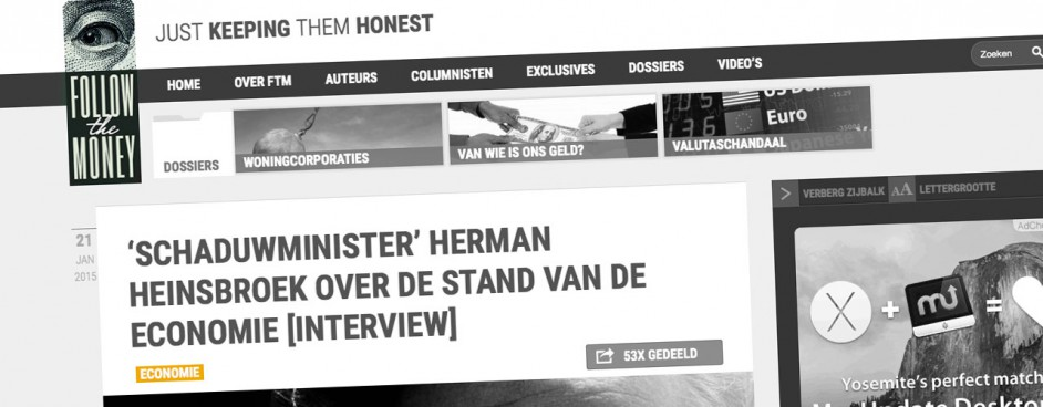 Herman Heinsbroek interview Follow the money